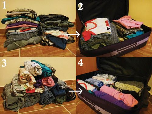 10 Hacks To Help You Packing For Your Hostel