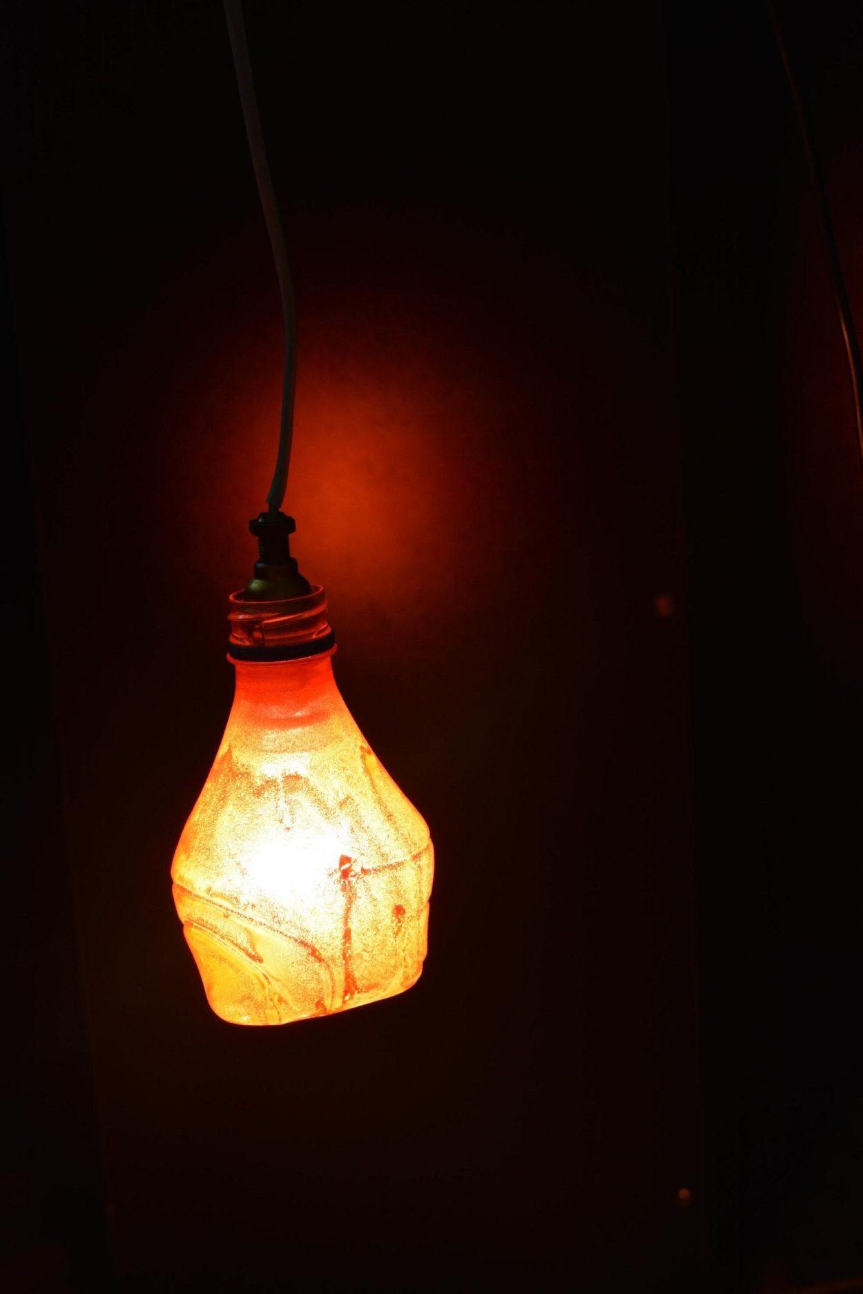 DIY Plastic bottle light